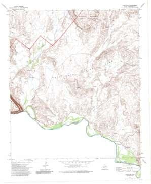 Castolon topo map