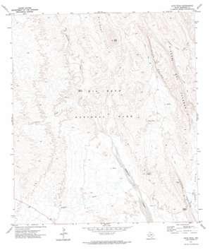 Roys Peak topo map
