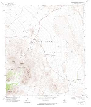 Panther Junction topo map