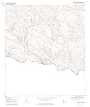 Santana Mesa topo map