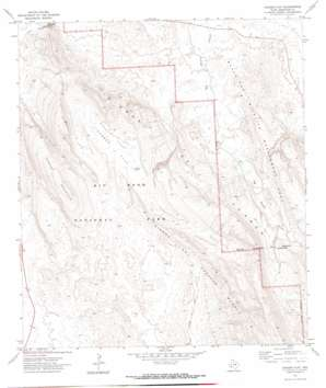 Dagger Flat topo map