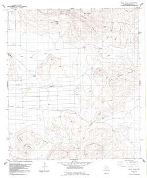 White Hills topo map