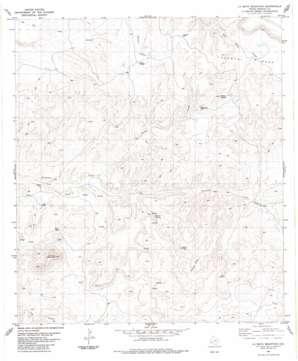 La Mota Mountain topo map