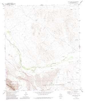 Bone Spring Ne topo map