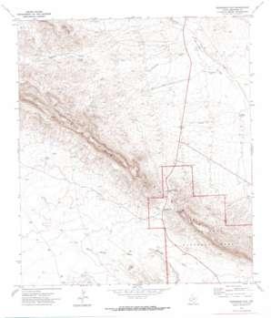 Persimmon Gap topo map