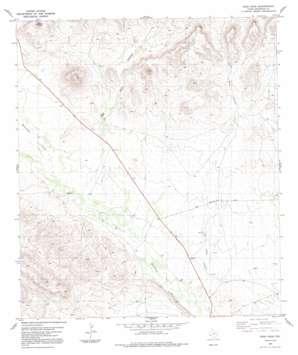 Sosa Peak topo map