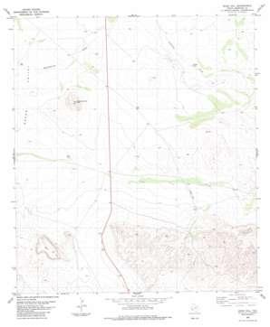 Buck Hill topo map