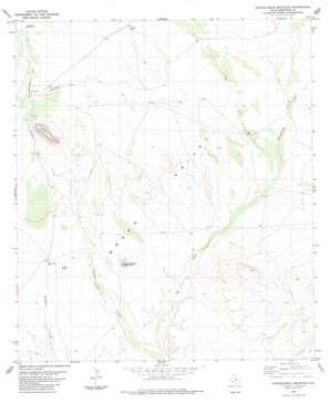 Straddlebug Mountain topo map