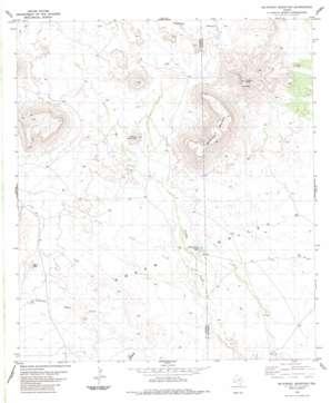 Mckinney Mountain topo map