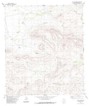 Hood Spring topo map