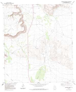 Whirlwind Spring topo map