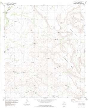 Jordan Gap topo map