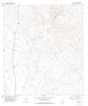 La Boquilla topo map