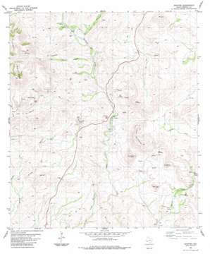Shafter topo map