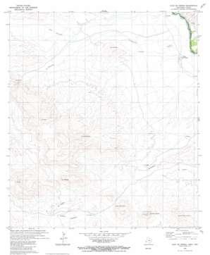 Vado De Piedra topo map