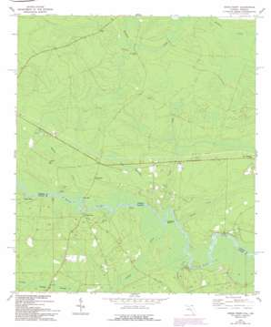 Kings Ferry topo map