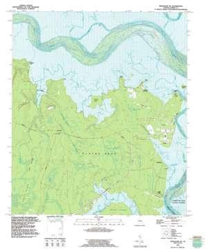 Kingsland Ne topo map