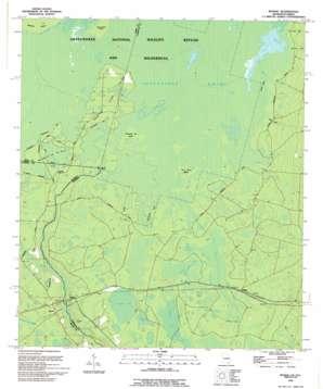 Moniac topo map