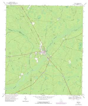 Fargo topo map