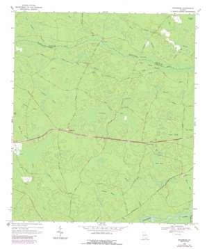 Needmore topo map