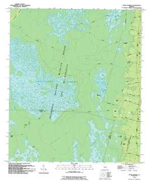 Chase Prairie topo map