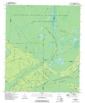The Pocket topo map