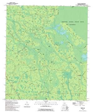 Colon topo map