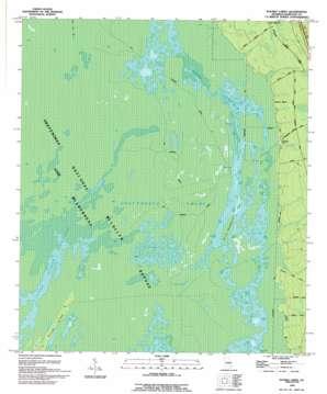 Double Lakes topo map