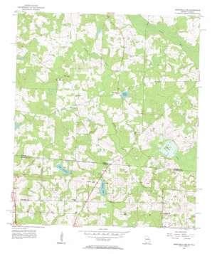 Monticello Ne topo map