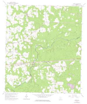 Ousley topo map