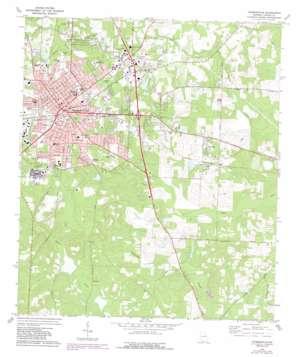 Thomasville topo map