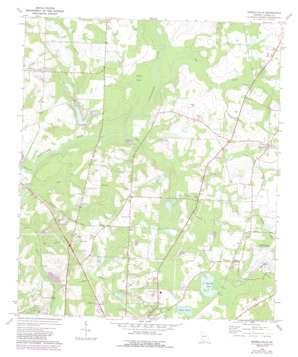 Merrillville topo map