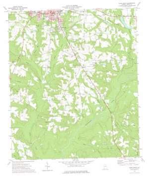 Cairo South topo map