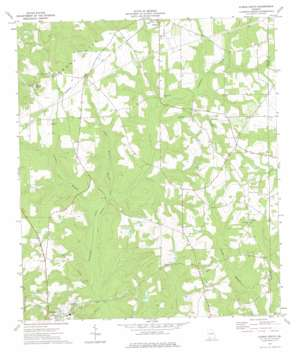 Climax South topo map