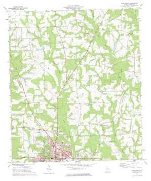 Cairo North topo map