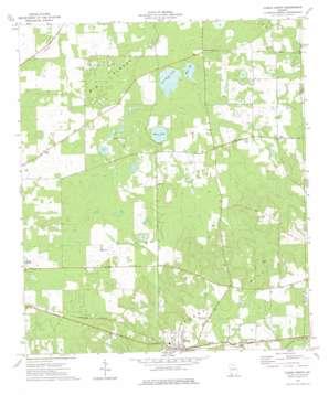 Climax North topo map