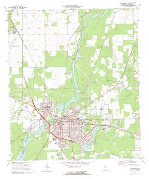 Bainbridge topo map
