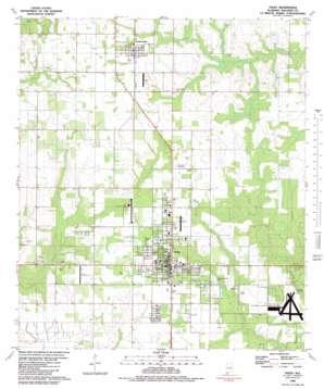 Foley topo map