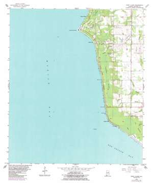 Point Clear topo map