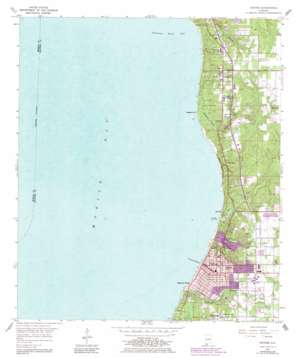 Daphne topo map