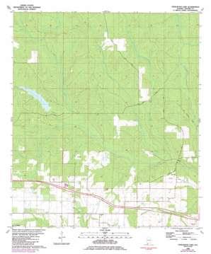 Steelwood Lake topo map