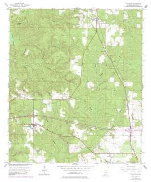 Stapleton topo map