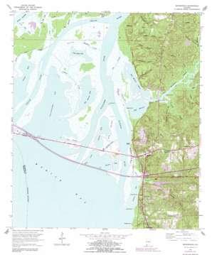 Bridgehead topo map