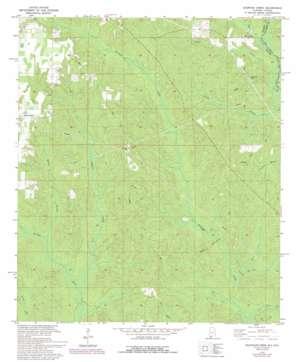 Dogwood Creek topo map
