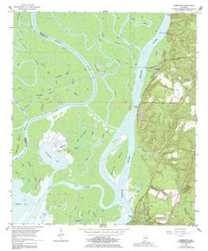 Hurricane topo map