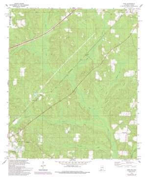 Dyas topo map