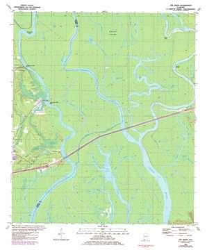 The Basin topo map