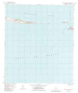 Horn Island East topo map
