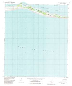 Horn Island West topo map
