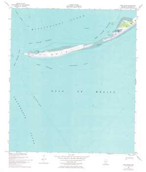 Ship Island topo map